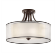 Lampa sufitowa Elstead Lighting Lacey KL-LACEY-SFM-MB