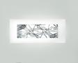 Oprawa Ścienna Leucos Laguna P 74 Platinum 74 cm platynowa